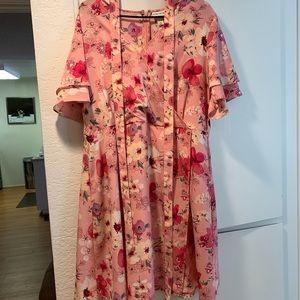 Ava Viv floral dress